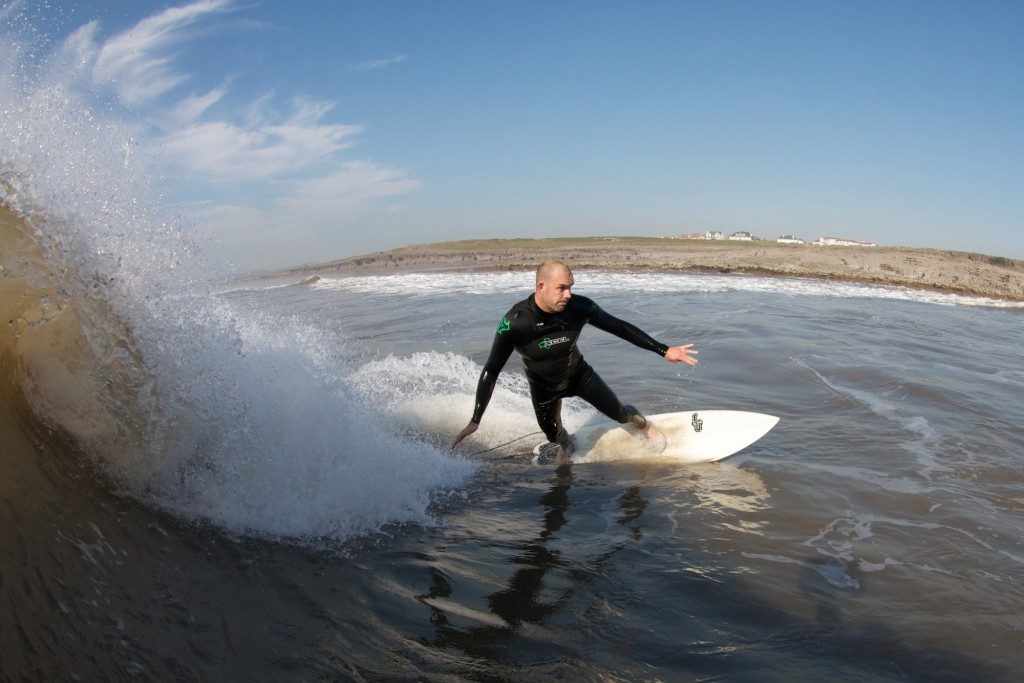 Surfing in Bridgend County