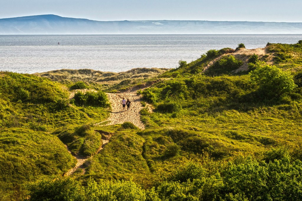 Sand dunes at Kenfig Nature Reserve Crown copyright (2014) Visit Wales
