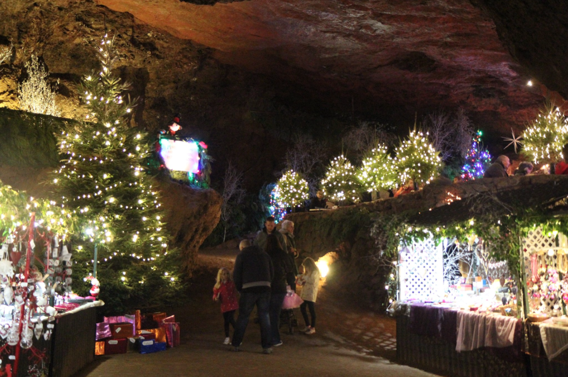 Christmas at Clearwell Caves, Forest of Dean