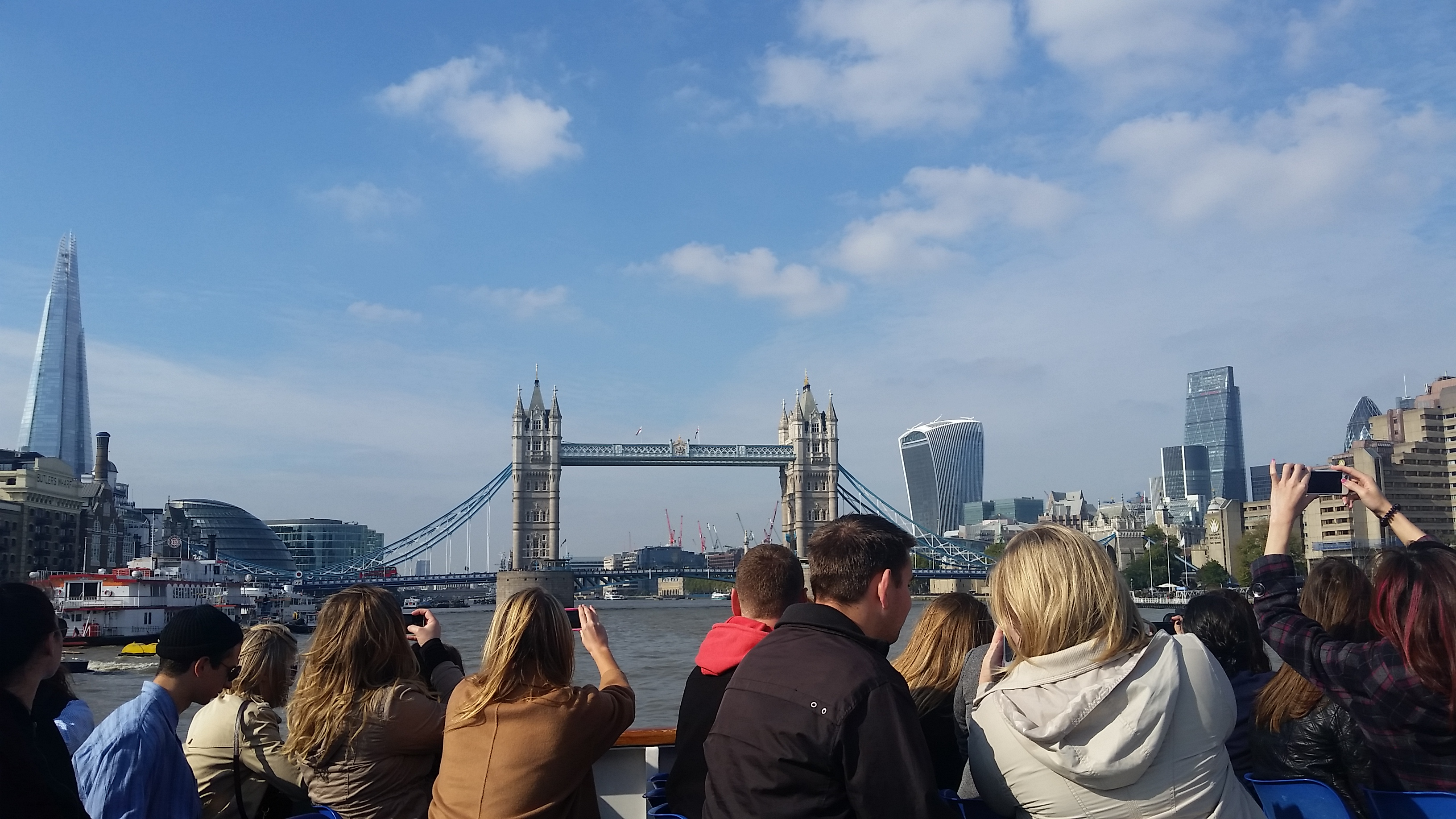 Many people think that Tower Bridge is London Bridge!